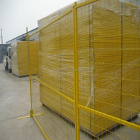 Low Price Cheap price Powder Hot dipped galvanized PVC Coated Canada Temporary Fence