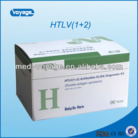 2014 new product, HTLV(1+2) Elisa Test kit; modern medical apparatus