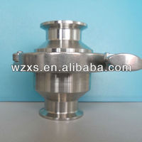 High Quality Sanitary Stainless Steel Check