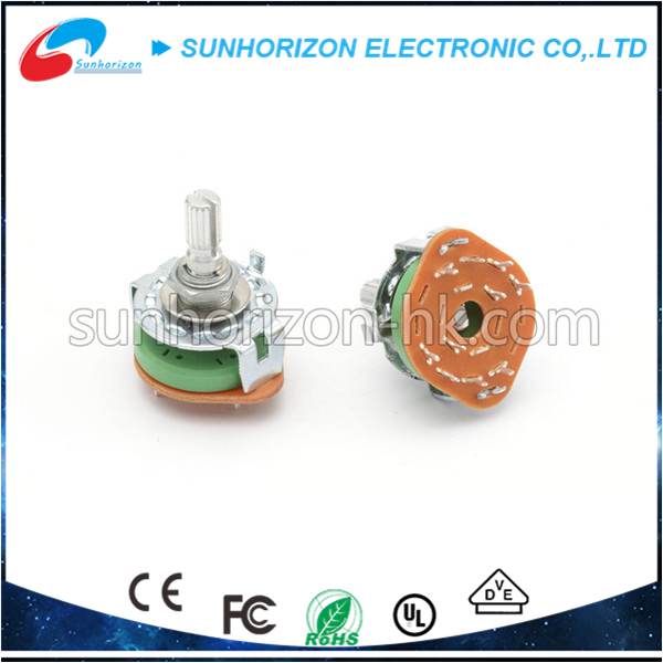 Multi-media single gang electrical adjustable rotary switches manufacturers