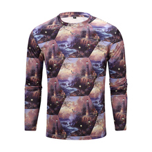 Mens Clothing Print Polyester T Shirt Cheap Custom T Shirts For Printing
