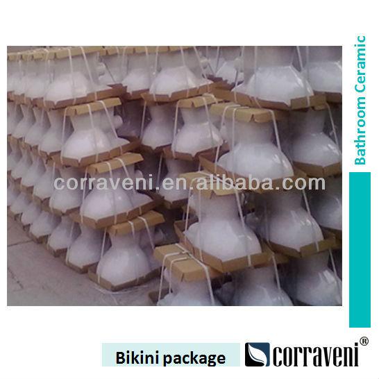 Tinas De Baño De Ceramica:Baño sanitarios de cerámica de dos de la taza del inodoro PO121
