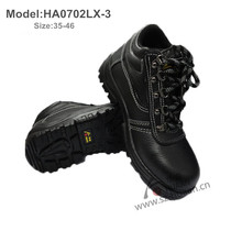 industrial buffalo leather steel toe safety working shoes S1/S1P/S3