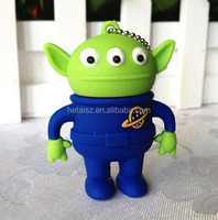 Genuine Three eye monster usb flash drive memory cartoon toy story Aliens stick 2g/4g/8g/16gb/32gb