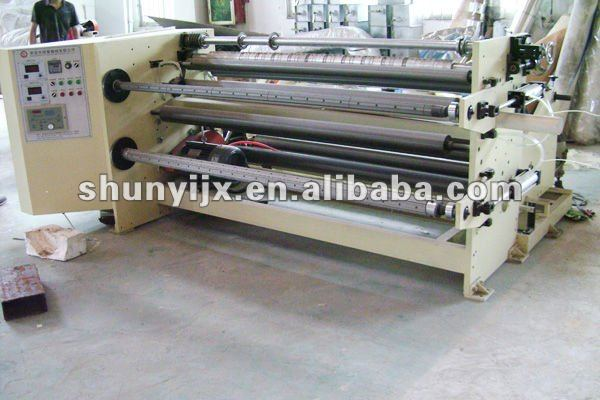 jumble Roll Paper/Film Automatic Slitting Rewinding Machine