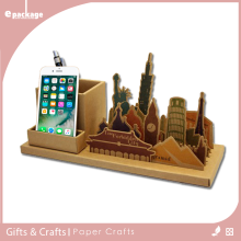 Famous Building Office Desk Decoration Accessories
