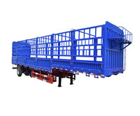Long Distance Transport Shandong 60 T High Wall Fence Type Cheap Semi Trailers For Sale