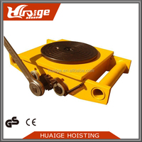 High Quality PU Wheel Mover Skate Cargo Trolley 12Ton