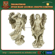 Decorative resin garden statue angel