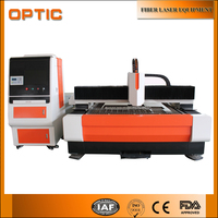 cnc laser cutting machine fiber laser cutting machine 500W 1000W with import laser