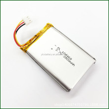 China Manufacturer 104468 3.7V Nominal Voltage 3500mAh rechargeable li-ion li ion lithium polymer lipo battery with PCM, PCB