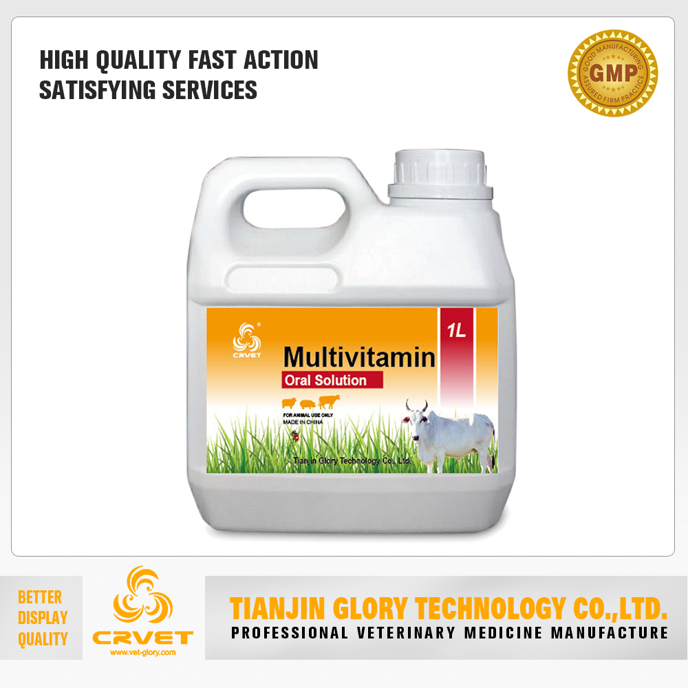 Multi-Vitamin Vitaminad3E Oral Solution Poultry Vitamin