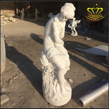 outdoor marble stone sculpture Lifelike figure statues