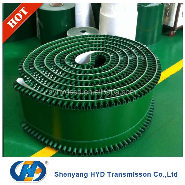6.5mm beige slope conveyor belts for paper industry