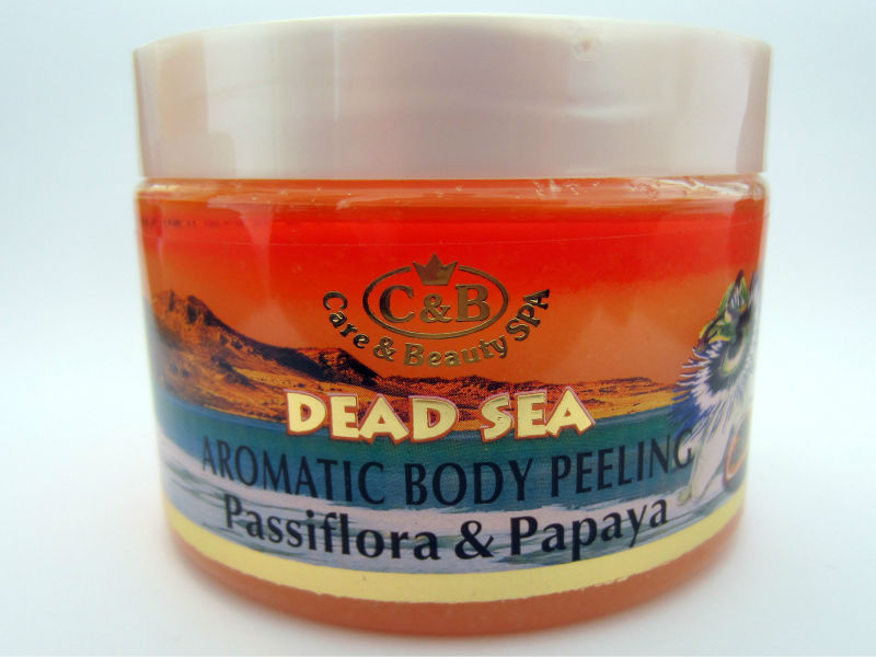 Peeling Dead Sea 300ml/10.2oz Mineral Israel Beauty Skin Scrub Body from Israel For All Skin Types Vitamins Minerals Face Care
