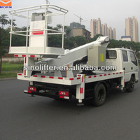 14m articulated heavy truck wheel lift