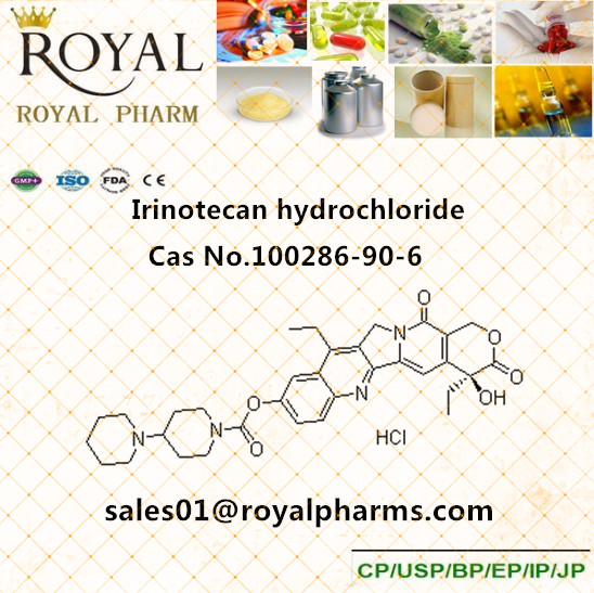 Irinotecan HCl API 100286-90-6 professional supplier