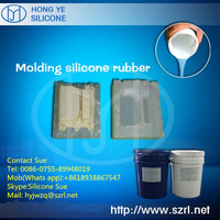 Low viscosity spray liquid rtv 2 silicone rubber