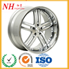 Hyper silver chrome alloy wheel cover powder paint