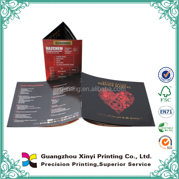 Full Color Offset Printing New Cheap Good Iron Gates Catalog