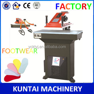 Jiangsu XCLB2 Leather Hydraulic Swing Arm Cutting Shoes Machine