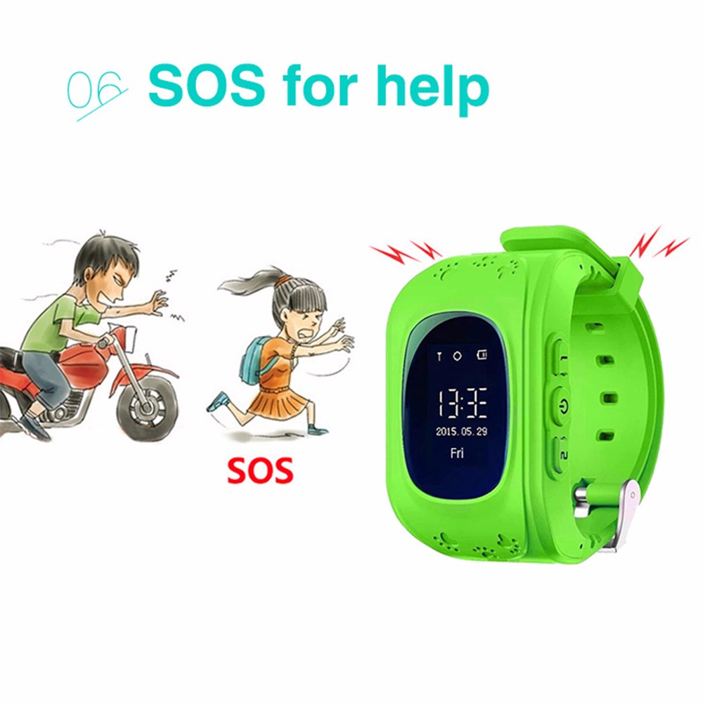 China Factory Low Cost Price Smart Watch Phone GSM+GPS+LBS kids cell phone Watch