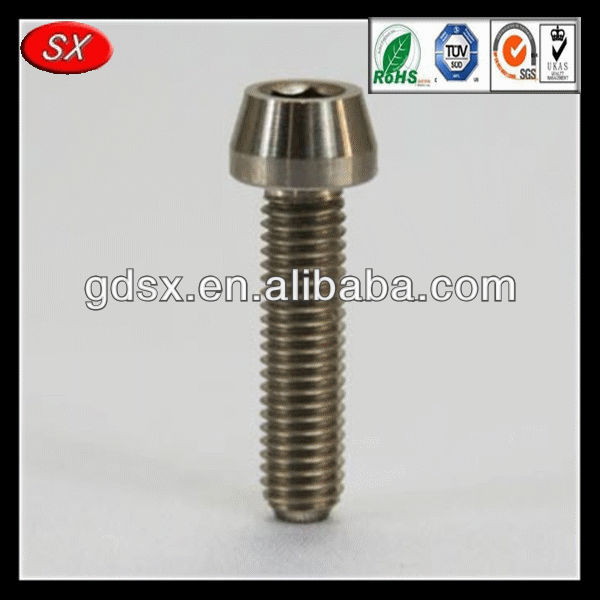 dome headed screw hex socket head cap undercut screw socket head wood screws