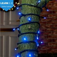 outdoor Xmas decoration waterproof IP65 rubber led light chain, led garland string light