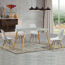 Latest dinning room furniture small round dining table set