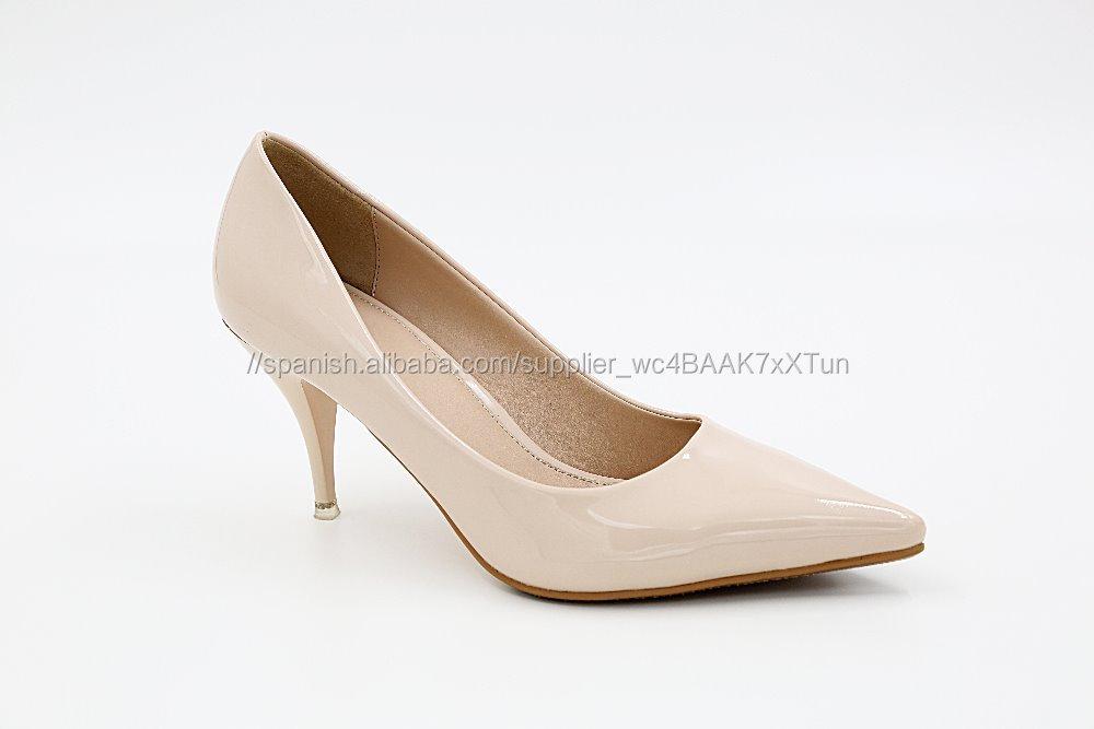 punto del dedo del pie zapatos de novia elegantes zapatos de boda de