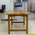 solid wood dining table set wooden base for dining table