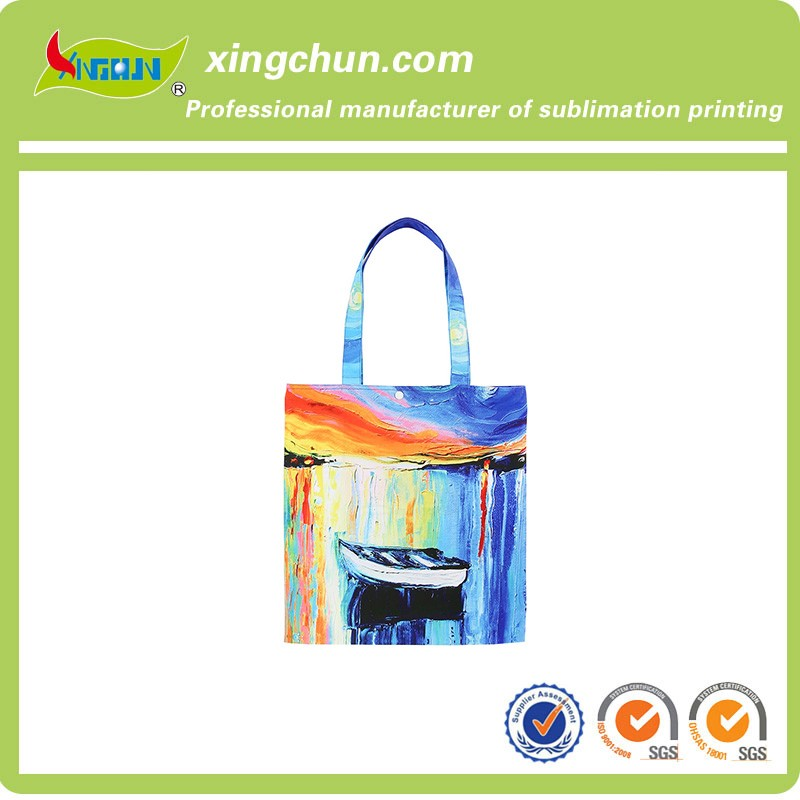 High quality reuse canvas tote shopping bag