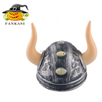 Party decoration funny plastic helmet pirate devil horn hats