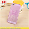 2015 Fashion 3d New Design Lovely Cartoon TPU Case For Iphone 5