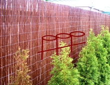 Good quality cheap natural garden fence willow fence