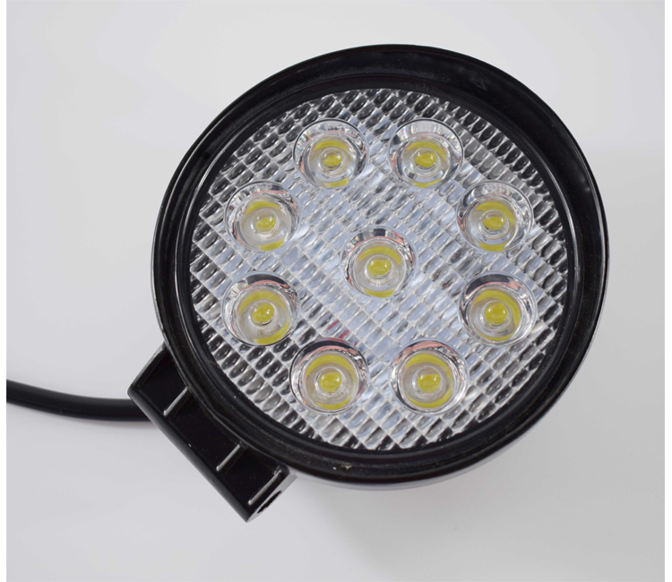27W Round <strong>LED</strong> Work Light bar fog driving lamp tractor light