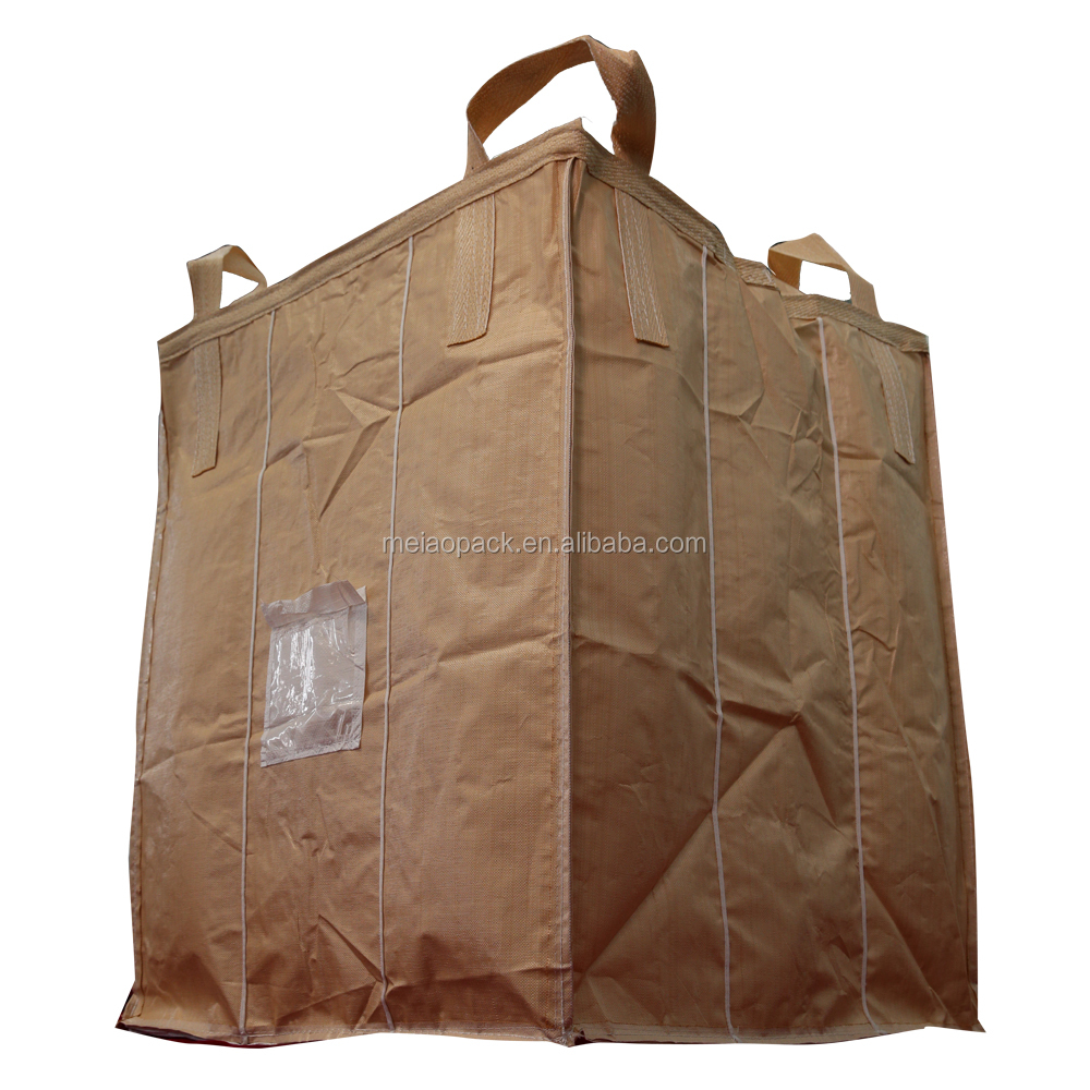 4-panel container bag pp jumbo bag for chemical products