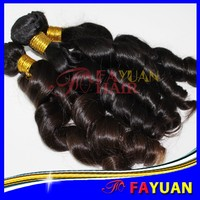 Fayuan 7A wholesale brazilian curly weave