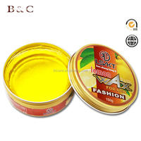 2017 new fashion lemon strong hold hair styling wax pomade 150 g