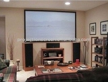 High quality picture fixed frame projection screen/16:9 home cinema electric portable screen
