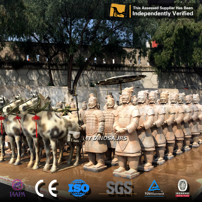 MY Dino-JL542 Theme park Qin Shi Huang's Buried Sculpture Legion
