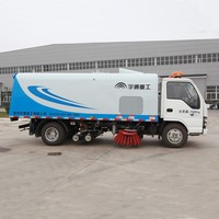 YUTONG Reasonable Price And Efficient Vacuum Road Sweeper Truck