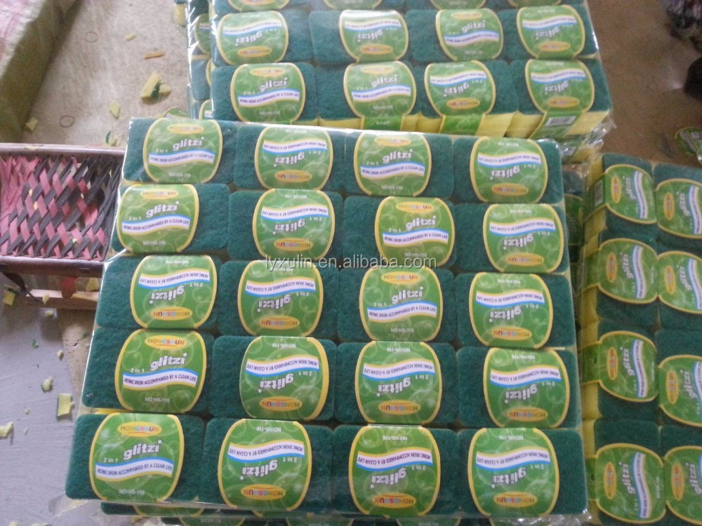 wholesale sponge scouring pads/clean products