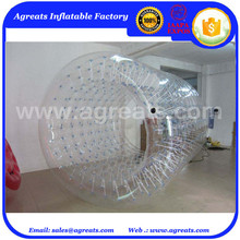 water zorb balls clear inflatable cylinder roller on sale GW7255
