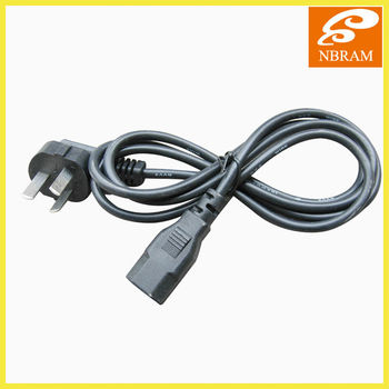2 or 3 pins power cord