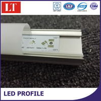 Top Quality And Recessed Linear Flanged LED aluminium profile For LED Strips Lighting Project From China