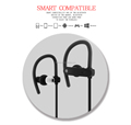 RN8-Bluetooth 4.1 Wireless Stereo Running Earphones, Running Sport Headphones Earbuds Earphone with Mic Hands-free Calling