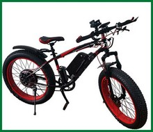 Fat tire strong and powerful 48V 350W electric mountain bike bicycle made in china