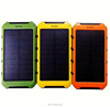 8000mAh portable smartphone solar power bank charger NP070