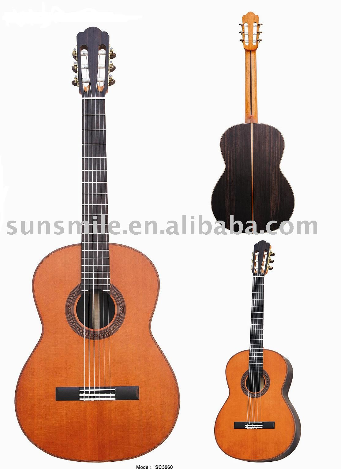39 inch Solid Wood Top Classical Guitar SC3960